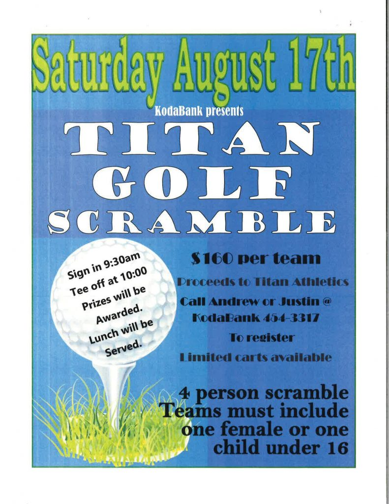 KodaBank Titan Golf Scramble @ Drayton Golf Club