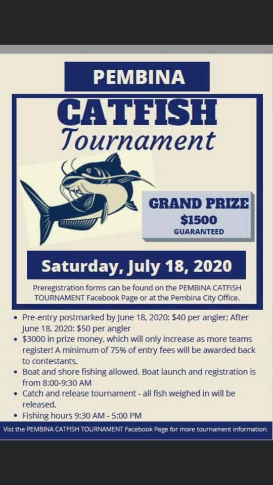 Pembina Catfish Tournament @ Red River at Pembina